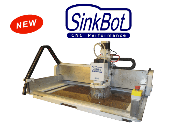 SinkBot Portable CNC Router