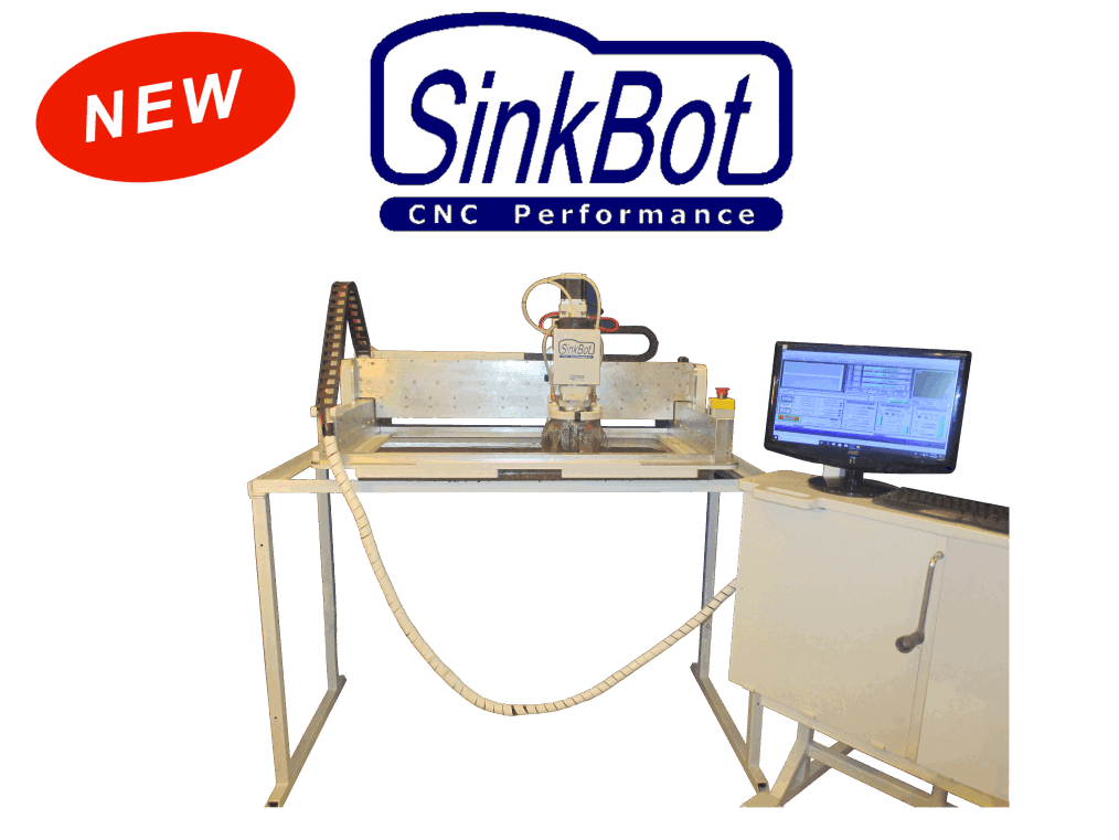 SinkBot CNC Router with Control-Work Station